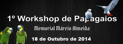 1� Workshop de Papagaios - Para Criadores